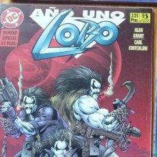 Cómics: LOBO AÑO 1 NÚMERO ESPECIAL (52 PAGS) EDICIONES ZINCO. Lote 54207595