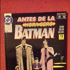 Cómics: OFERTA BATMAN - ANTES DE LA HORA CERO - TOMO - ZINCO. Lote 54439155