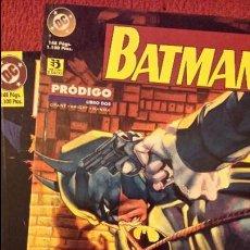 Cómics: OFERTA BATMAN: PRÓDIGO 1 Y 2 - TOMOS - ZINCO. Lote 54439334