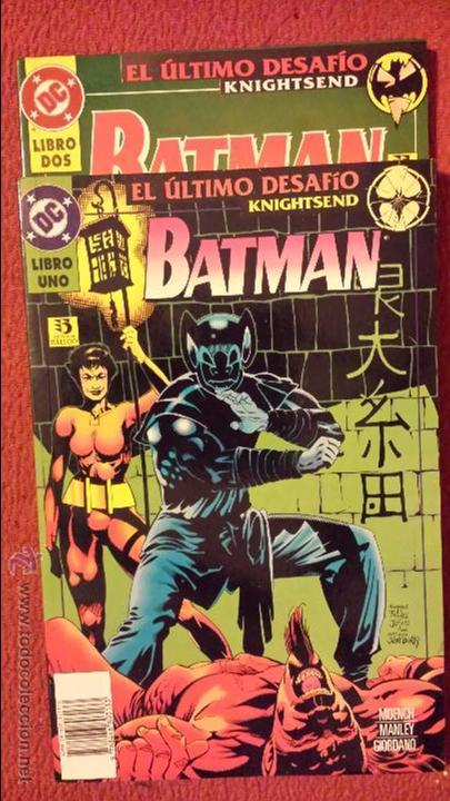 OFERTA BATMAN: EL ÚLTIMO DESAFIO 1 Y 2 TOMOS - ZINCO (Tebeos y Comics - Zinco - Batman)
