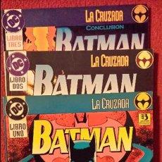 Cómics: BATMAN: LA CRUZADA 1, 2 Y 3 - TOMOS - ZINCO. Lote 54439545