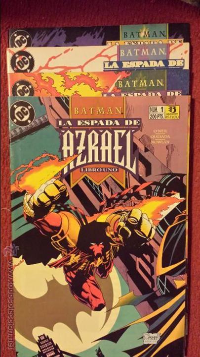 BATMAN: LA ESPADA DE AZRAEL 1 AL 4 - ZINCO (Tebeos y Comics - Zinco - Batman)