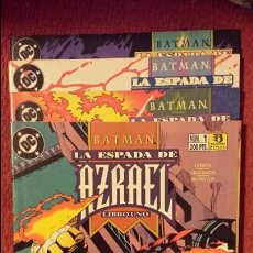 Comics: BATMAN: LA ESPADA DE AZRAEL 1 AL 4 - ZINCO. Lote 54440220