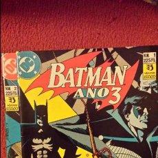Cómics: BATMAN: AÑO 3 - 1 Y 2 - ZINCO - MUERTE DE ROBIN. Lote 54440352