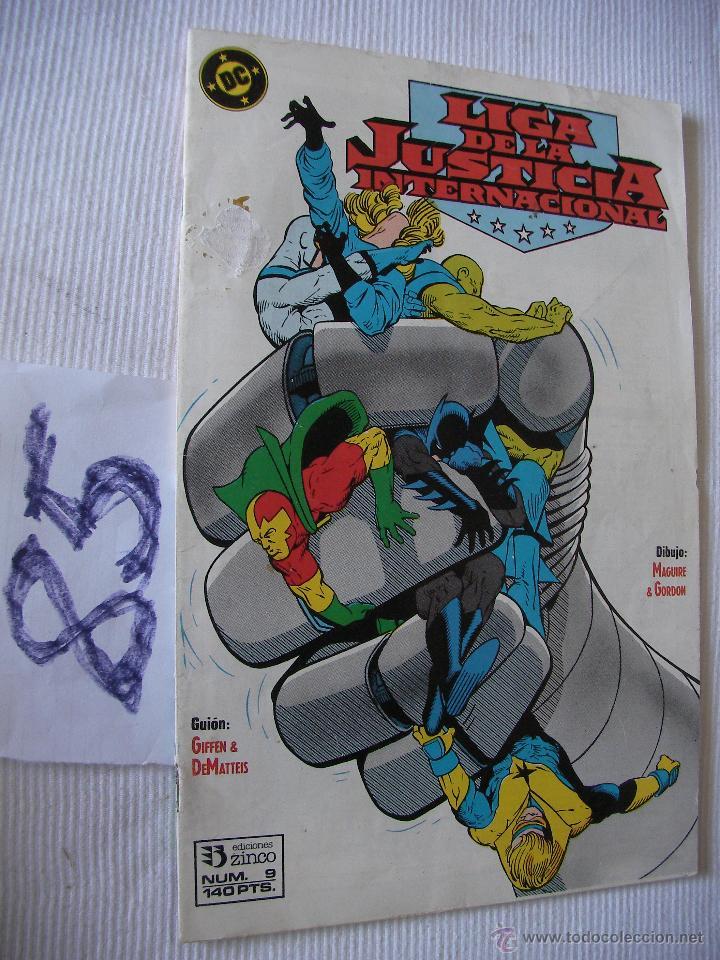 ANTIGUO COMIC LIGA DE LA JUSTICIA INTERNACIONAL- ENVIO GRATIS A ESPAÑA (Tebeos y Comics - Zinco - Liga de la Justicia)