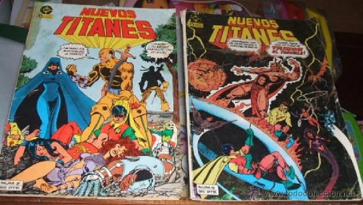 COMIC NUEVOS TITANES NUMEROS 2 Y 6 (Tebeos y Comics - Zinco - Otros)