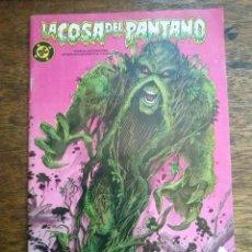 Cómics: LA COSA DEL PANTANO - COMPLETA DE 4 NºS - ORIGINAL SUELTA DC ZINCO-GA. Lote 54614745