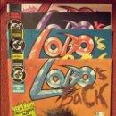 Cómics: LOBO'S BACK: 1 AL 4 - ZINCO. Lote 54638504