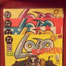 Cómics: OFERTA LOBO: INFANTICIDIO 1 AL 4 - ZINCO. Lote 188685656