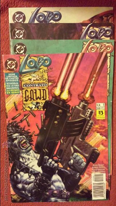 LOBO: CONTRATO SOBRE GAWD 1 AL 4 - ZINCO (Tebeos y Comics - Zinco - Lobo)