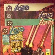 Cómics: LOBO: CONTRATO SOBRE GAWD 1 AL 4 - ZINCO. Lote 54638988