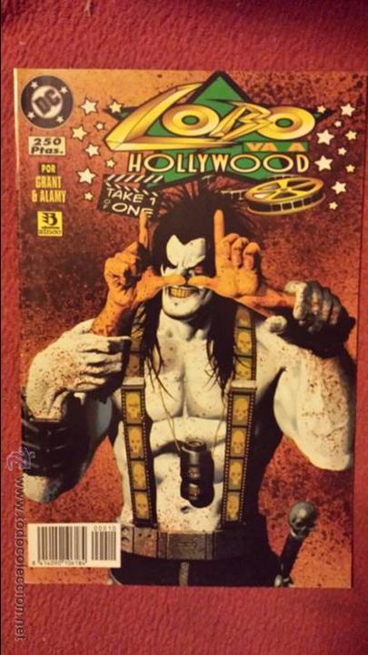 LOBO: VA A HOLLYWOOD - ONE-SHOT - ZINCO (Tebeos y Comics - Zinco - Lobo)