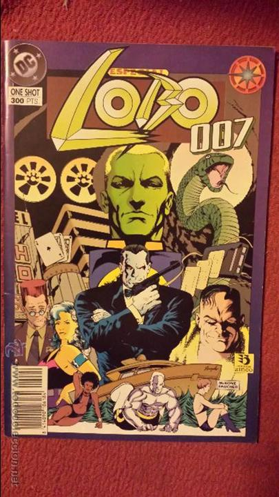 LOBO: 007 - ONE-SHOT - ZINCO (Tebeos y Comics - Zinco - Lobo)