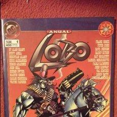 Cómics: LOBO: ANUAL - ESPECIAL - ZINCO. Lote 188685757