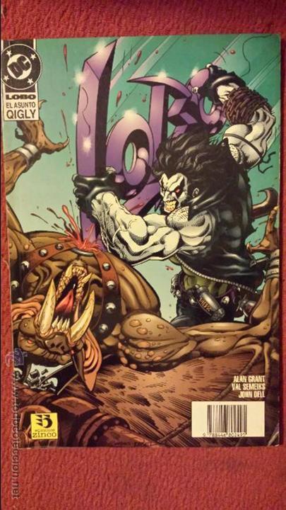 OFERTA LOBO: EL ASUNTO QIGLY - TOMO - ZINCO (Tebeos y Comics - Zinco - Lobo)
