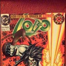 Cómics: LOBO: EL ORIGEN - TOMO - ZINCO. Lote 54639378