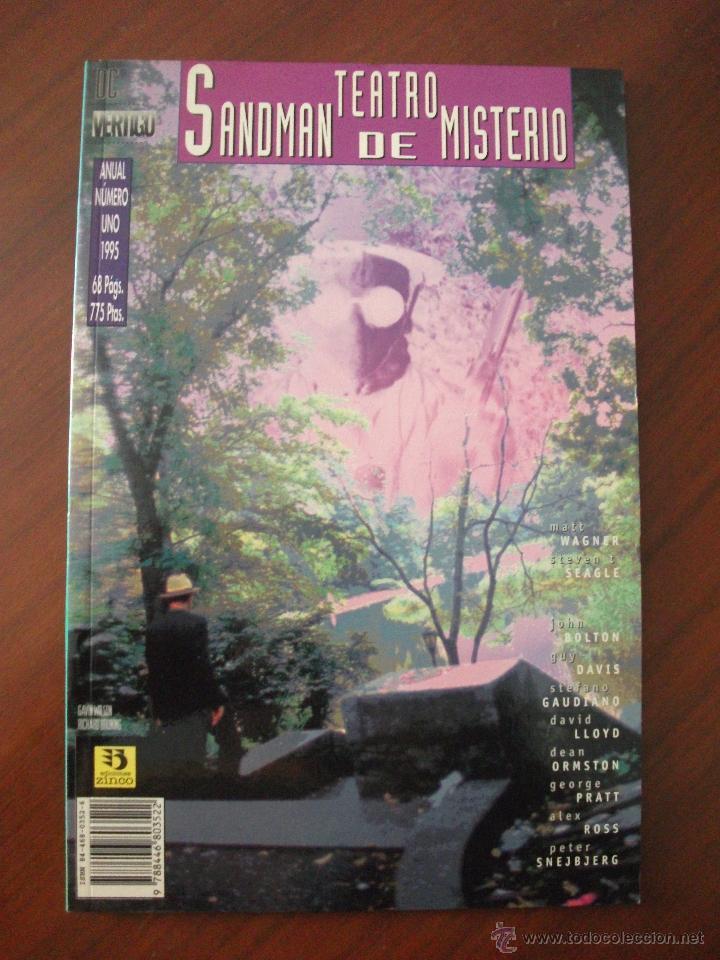 SANDMAN TREATRO DE MISTERIO ANUAL UNO EDICIONES ZINCO (Tebeos y Comics - Zinco - Prestiges y Tomos)
