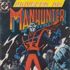 Cómics: UNIVERSO DC Nº 6 - MANHUNTER - EDICIONES ZINCO. Lote 54742370