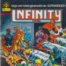 Comics: INFINITY INC. Nº 3 DC - EDICIONES ZINCO. Lote 54742768