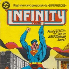 Comics: INFINITY INC. Nº 5 DC - EDICIONES ZINCO. Lote 54742809