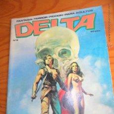 Cómics: DELTA Nº 9 -REVISTA CON RELATOS CORTOS FANTASIA - RICHARD CORBEN, ARCHIE GOODWIN, DOUG MOENCH,. Lote 54764684