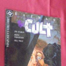 Comics: BATMAN CULT . LIBRO TRES. LA ESCAPADA. EDICIONES ZINCO.. Lote 54773820