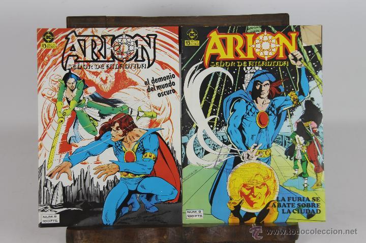 5707- COMIC ARION.EDICIONES ZINCO.1983 CARI BURKETT.20 EJEMPLARES. (Tebeos y Comics - Zinco - Otros)