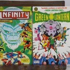 Cómics: 5710- EDICIONES ZINCO. INFINITY Y GREEN LANTERN. 1986. 8 EJEMPLARES.. Lote 48413800