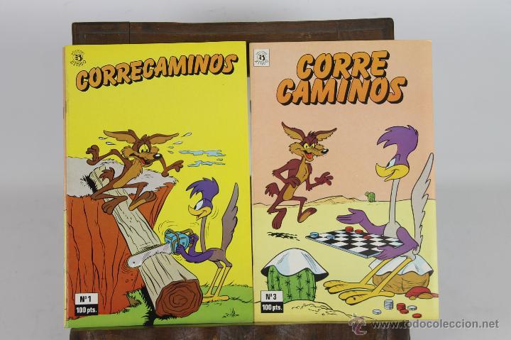5712- COMIC CORRECAMINOS.EDICIONES ZINCO.1985.13 EJEMPLARES. (Tebeos y Comics - Zinco - Otros)