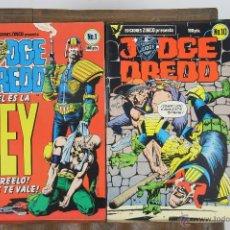 Cómics: 5713- COMIC JUDGE DREDD. EDICIONES ZINCO. 1984. 15 EJEMPLARES.. Lote 48415263