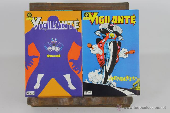 5737- VIGILANTE. PAUL KUPPERBERG. EDICIONES ZINCO. 1986. 10 NUMEROS. (Tebeos y Comics - Zinco - Otros)