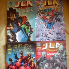 Cómics: LOTE DE COMICS LIGA DE LA JUSTICIA. Lote 55012631