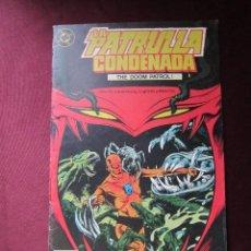 Cómics: LA PATRULLA CONDENADA Nº 2 THE DOOM PATROL! EDICIONES ZINCO DC. 1988 TEBENI. Lote 55066209
