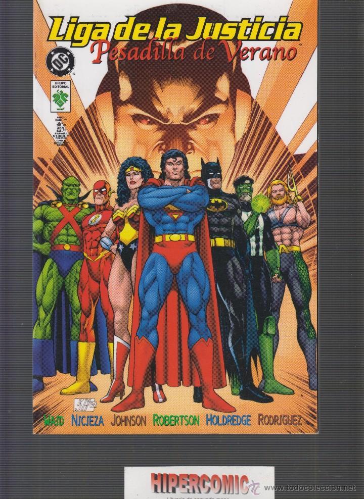 LIGA DE LA JUSTICIA, PESADILLA DE VERANO -EDITA : VID ( ZINCO - DC ) (Tebeos y Comics - Zinco - Prestiges y Tomos)