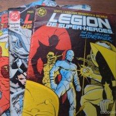 Cómics: LEGION DE SUPER HEROES Nº 13, 20 Y 21, DC, ZINCO, SIN DATAR. Lote 55148813