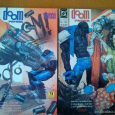 Comics : DOOM PATROL - EL CULTO DEL LIBRO NO ESCRITO - COMPLETA (EDICIONES ZINCO ). Lote 55234047