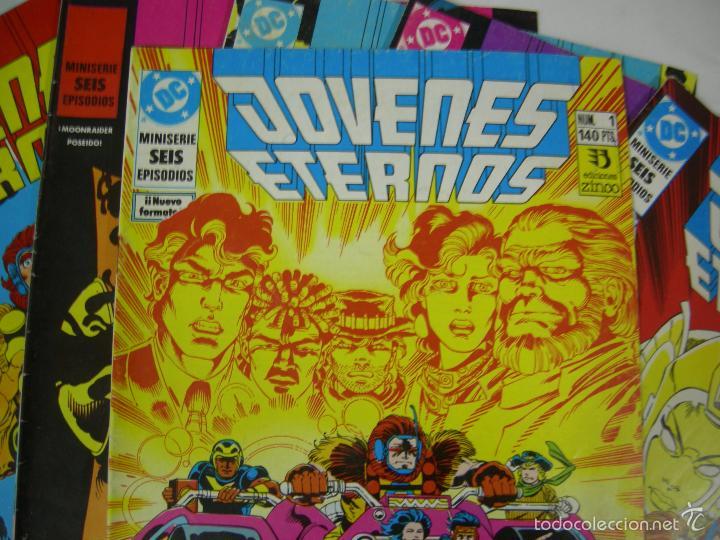 Cómics: JOVENES ETERNOS--colección completa en 6 numeros - EDICIONES ZINCO - Foto 2 - 55570139