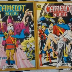 Cómics: CAMELOT 3000 EN 2 RETAPADOS. BOLLAND. ZINCO. COMPLETA. Lote 55705621