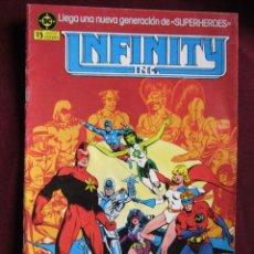Cómics: INFINITY INC Nº 1 DC COMICS 1986 - EDICIONES ZINCO - ROY THOMAS & MCFARLANE TEBENI MBE. Lote 55993854