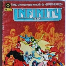 Cómics: INFINITY INC Nº 1 / DC / ZINCO 1986 ( ROY THOMAS & JERRY ORDWAY ). Lote 56042712