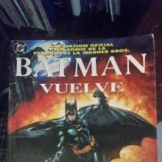 Cómics: BATMAN VUELVE. Lote 56062778