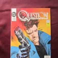 Comics: QUESTION Nº 35. DENNIS O´NEIL & COWAN EDICIONES ZINCO, 1988. DC COMICS TEBENI. Lote 56063898