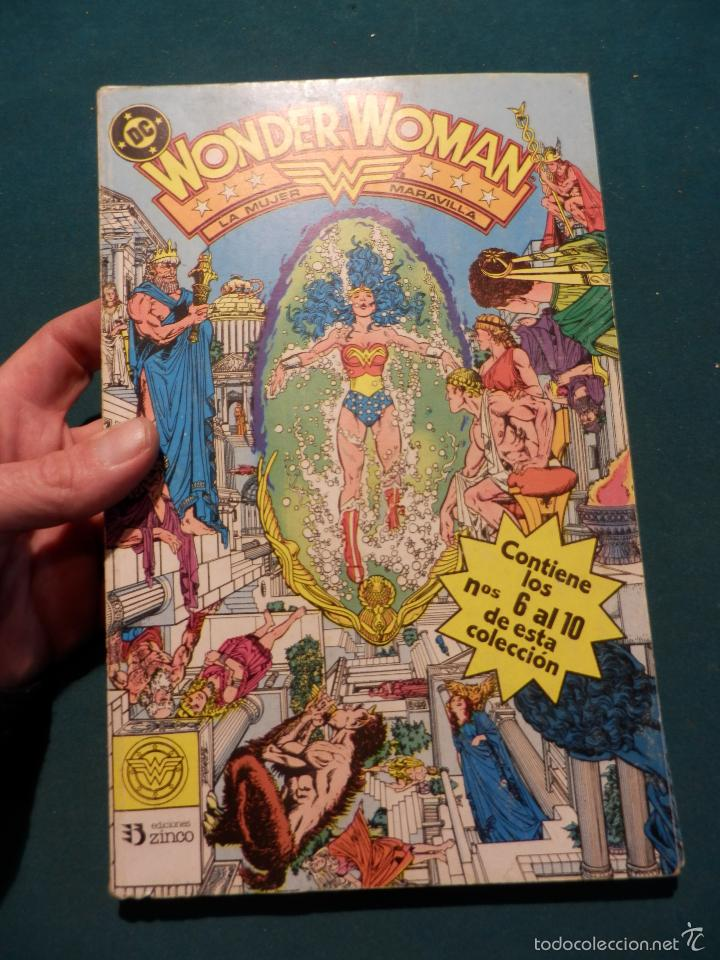 WONDER WOMAN - Nº 2 RETAPADO CON 5 NÚMEROS 6-7-8-9-10 - EDICIONES ZINCO - DC (Tebeos y Comics - Zinco - Retapados)