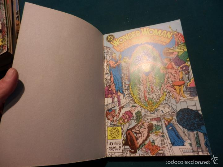 Cómics: WONDER WOMAN - Nº 2 RETAPADO CON 5 NÚMEROS 6-7-8-9-10 - EDICIONES ZINCO - DC - Foto 3 - 56065034