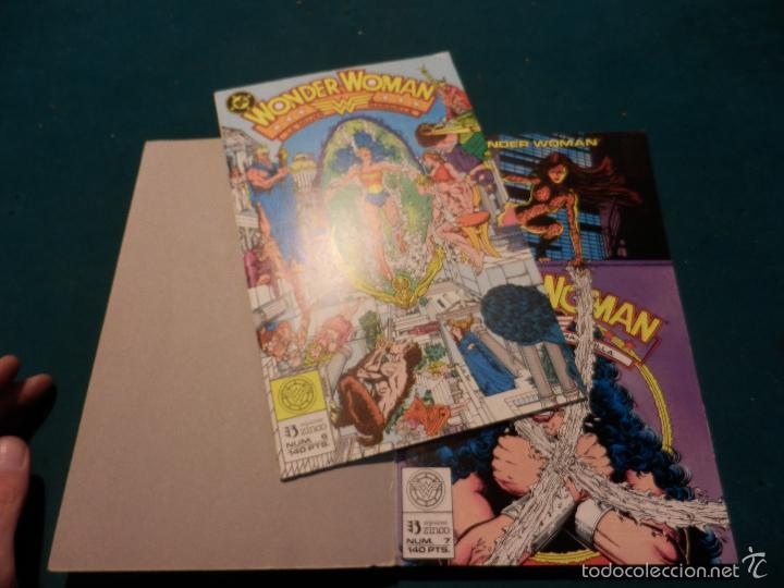 Cómics: WONDER WOMAN - Nº 2 RETAPADO CON 5 NÚMEROS 6-7-8-9-10 - EDICIONES ZINCO - DC - Foto 4 - 56065034