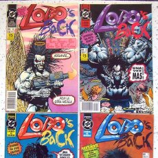 Comics : LOTE X 4 . COMIC LOBO`S BACK . SERIE LIMITADA DE 4 EPISODIOS . EDICIONES ZINCO. Lote 188709880