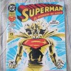 Cómics: COMIC SUPERMAN NUMERO 7 BATERIAS RECARGADAS ( SUPERMAN EL HOMBRE DE ACERO ) EDICIONES ZINCO. Lote 56350611