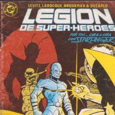 Cómics: LEGIÓN DE SUPERHÉROES - Nº 13 - ED. ZINCO 1987.. Lote 56395347