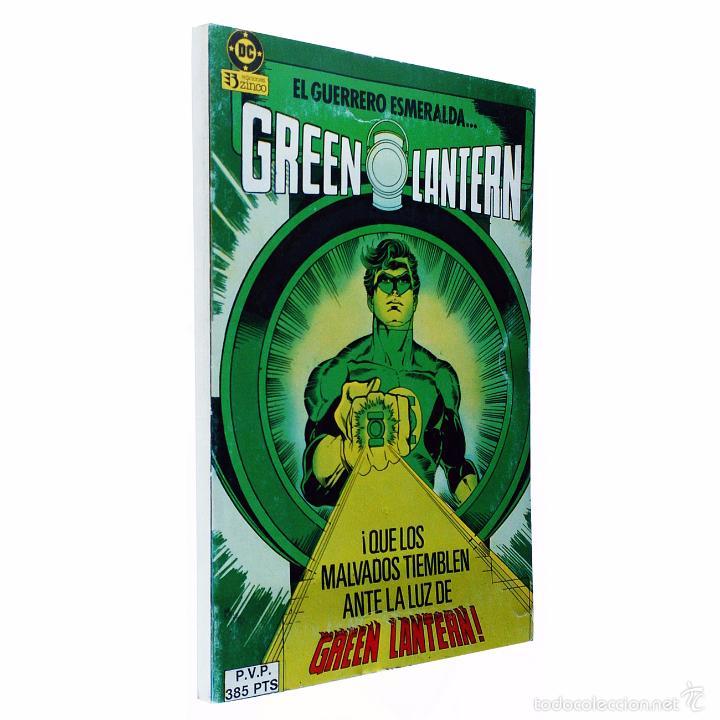 GREEN LANTERN / RETAPADO 1 (CONTIENE LOS NºS 1-2-4-5-6) DC / ZINCO 1992 ( MIKE W.BARR & JOE STATON) (Tebeos y Comics - Zinco - Prestiges y Tomos)