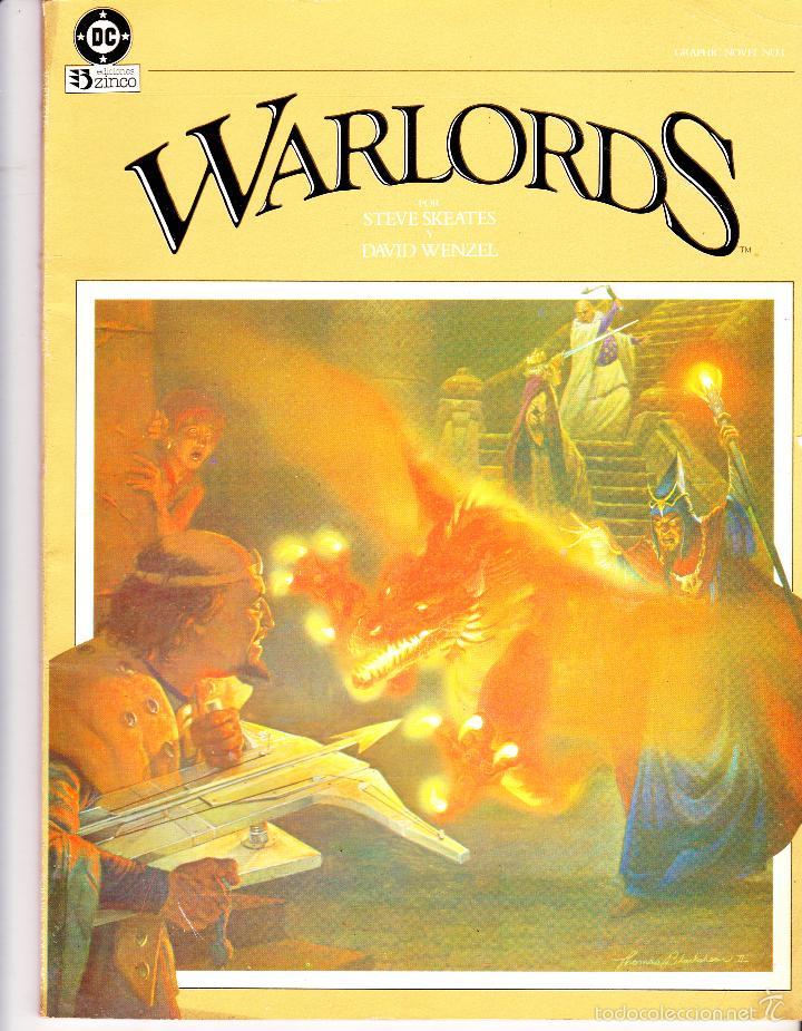 WARLORDS. NOVELA GRAFICA. EDICIONES ZINCO (Tebeos y Comics - Zinco - Prestiges y Tomos)